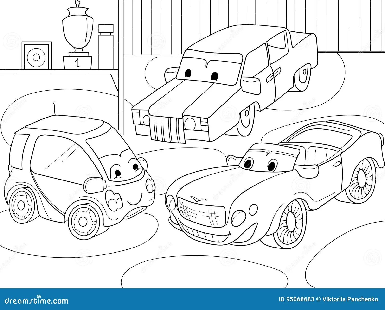 Livro Para Colorir Dos Desenhos Animados Das Criancas Para