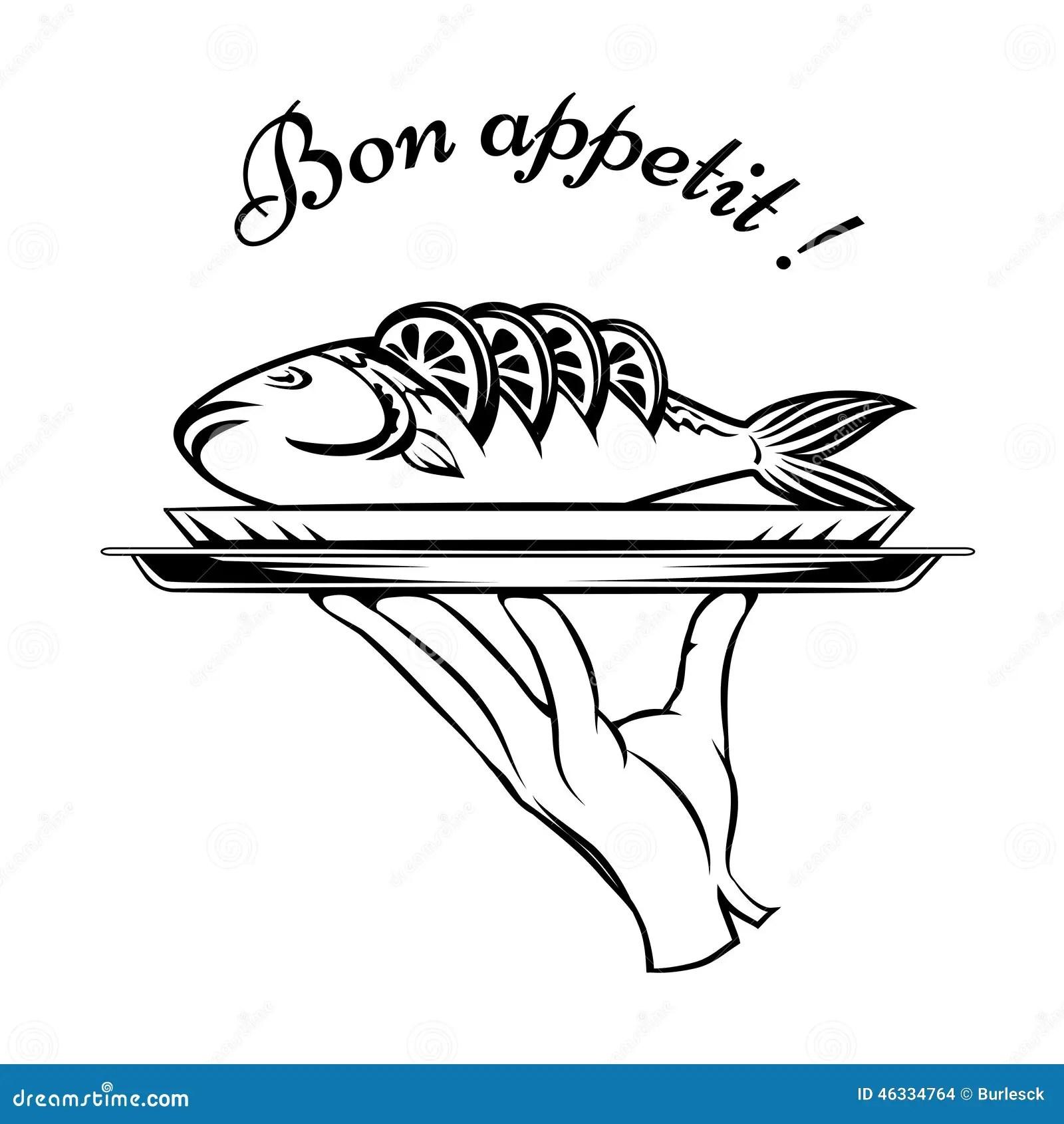 Element De Conception De Poissons De Bon Appetit