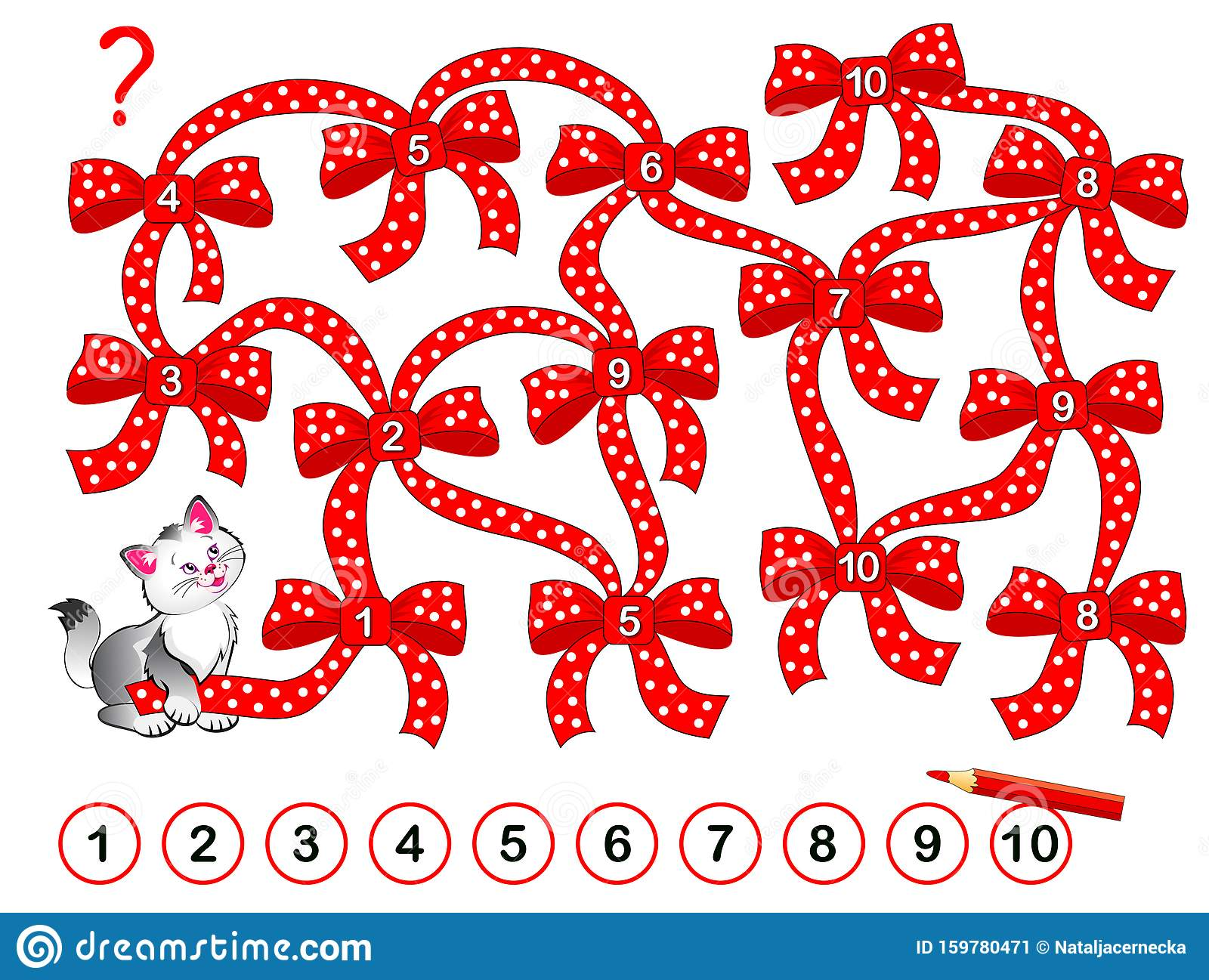Logic Puzzle Game For Children With Labyrinth Printable