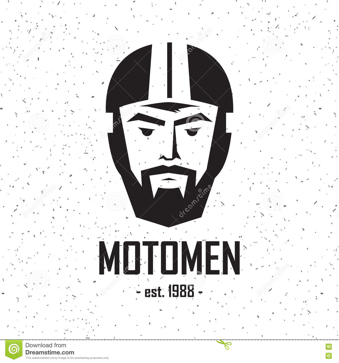 Logo Man In Helmet Stock Vector Image Of Logo Graphic