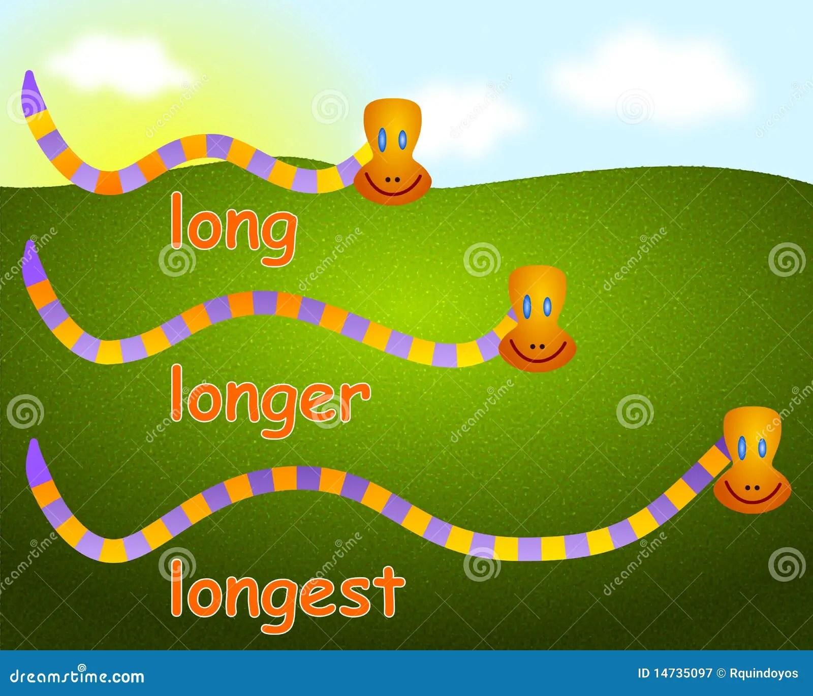 Long Longer Longest Worksheet