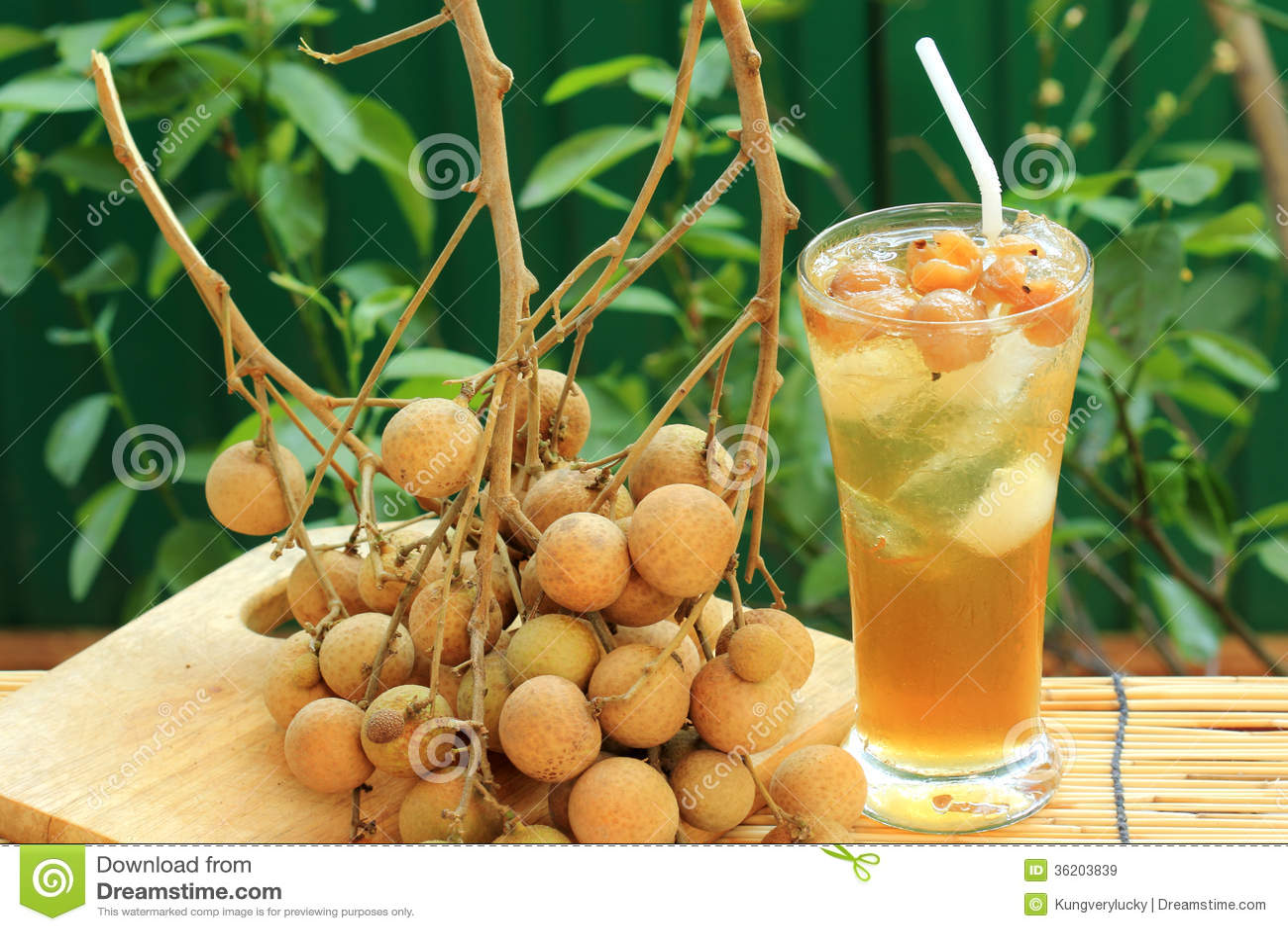 Longan Juice Cold Water Royalty Free Stock Images Image