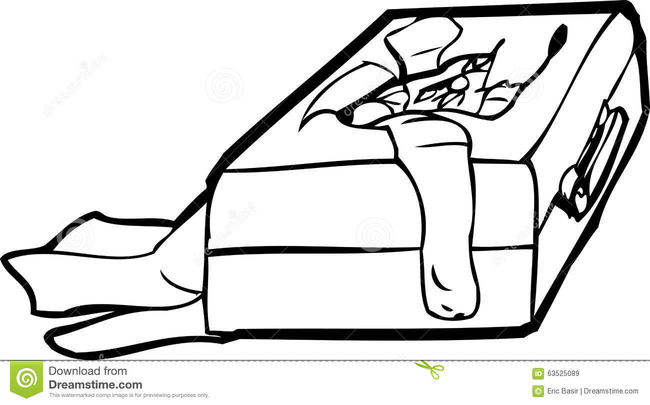 Lost Luggage Outline Stock Illustration