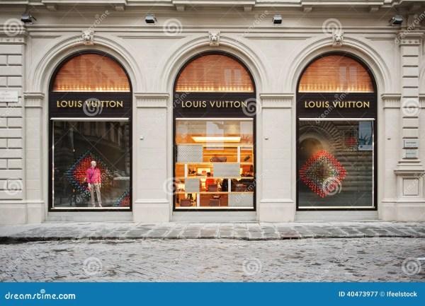 Louis Vuitton Store Facade Editorial Photography - Image ...