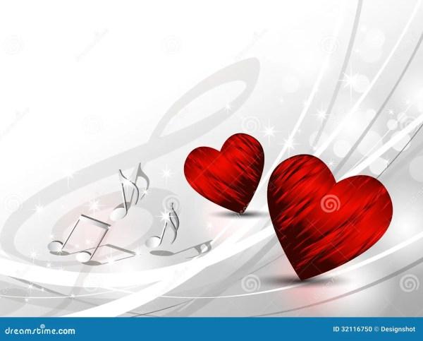 Love Background - Hearts Stock Photo - Image: 32116750