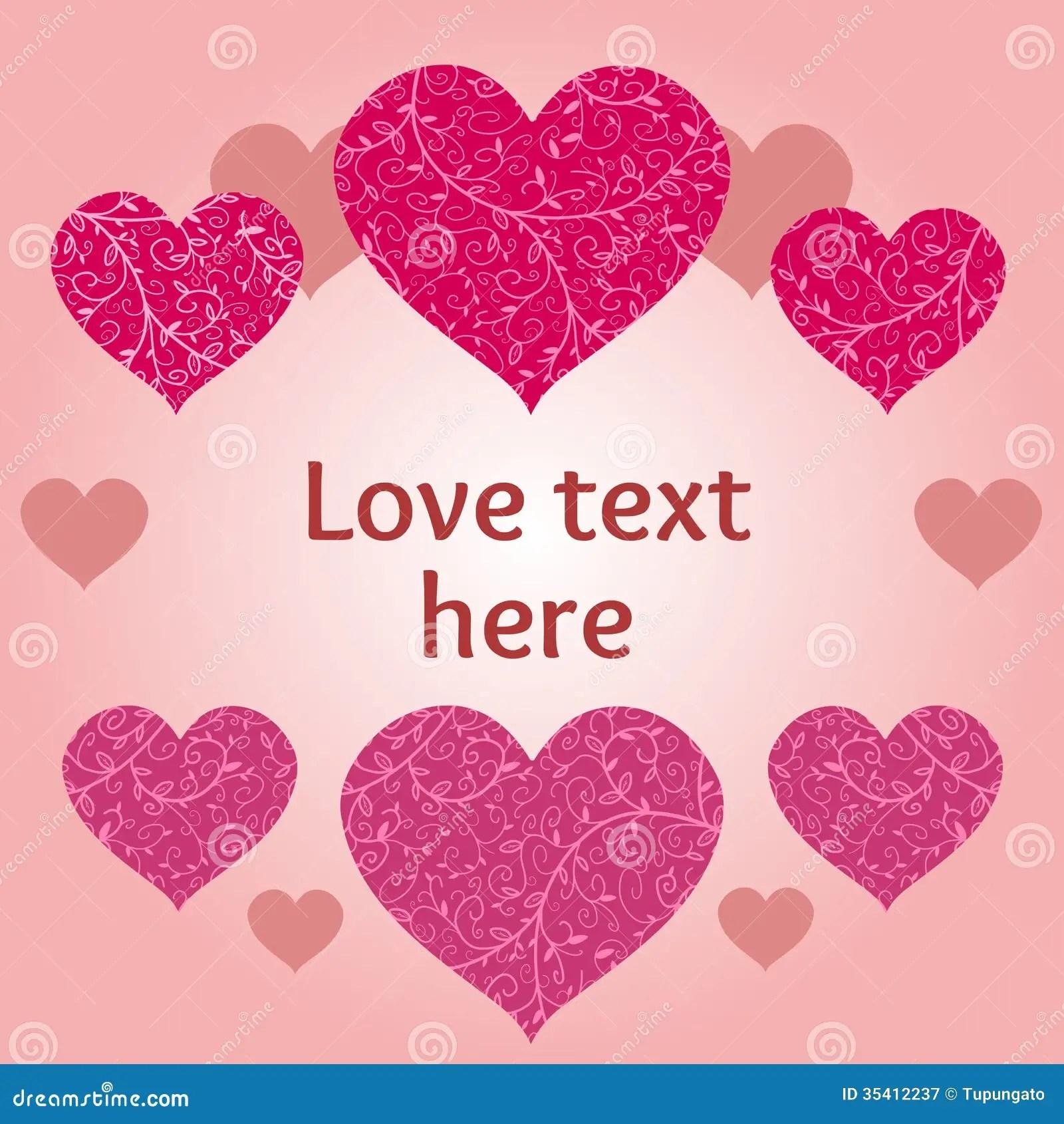 Love Design Stock Vector Image Of Vector Invitation