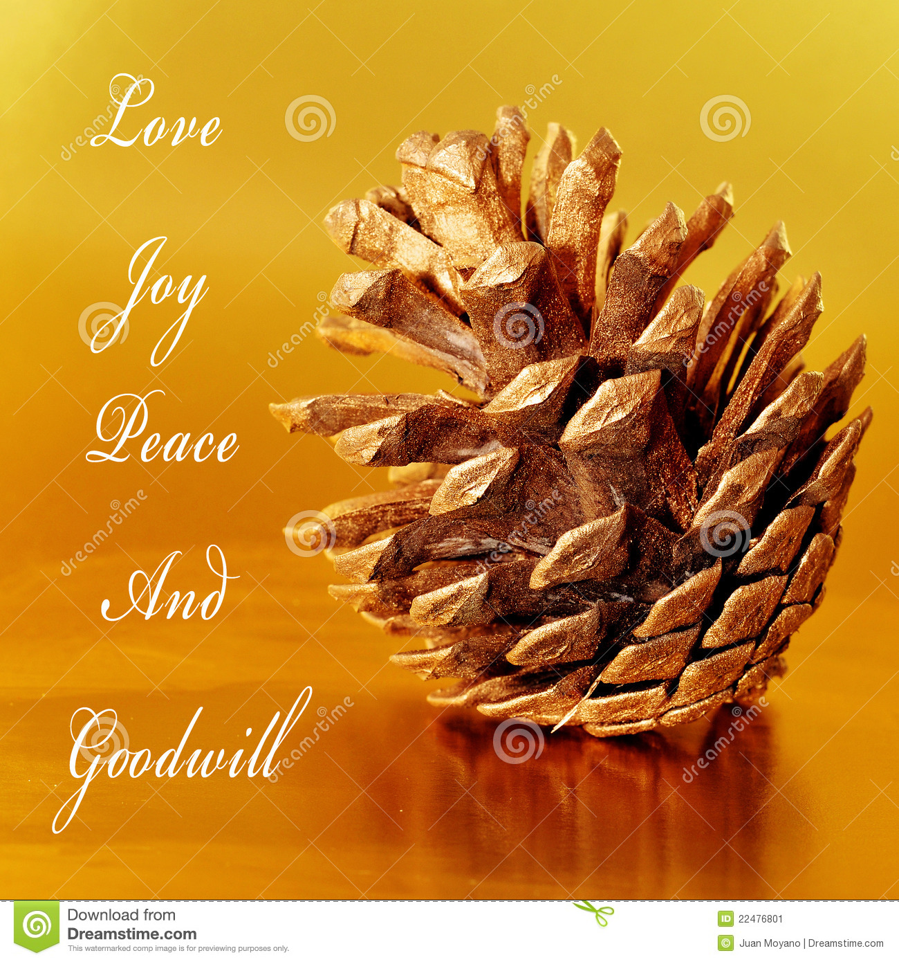 Love Joy Peace And Goodwill Stock Image Image 22476801