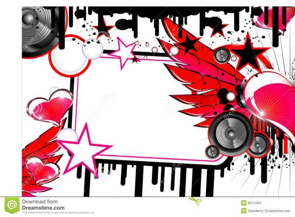 Love And Music Background Stock Images - Image: 9214404