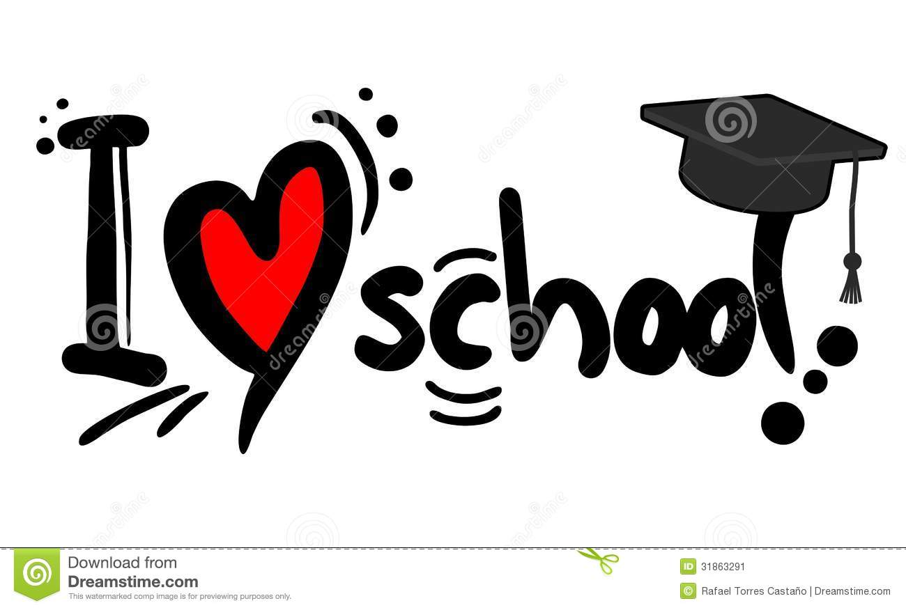 Love School Stock Image Image Of Knowledge Learning