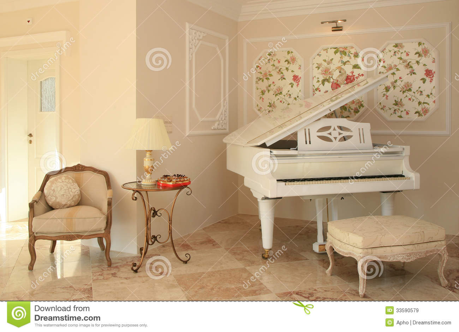 Luxury Hotel Interior Stock Image Image Of Design