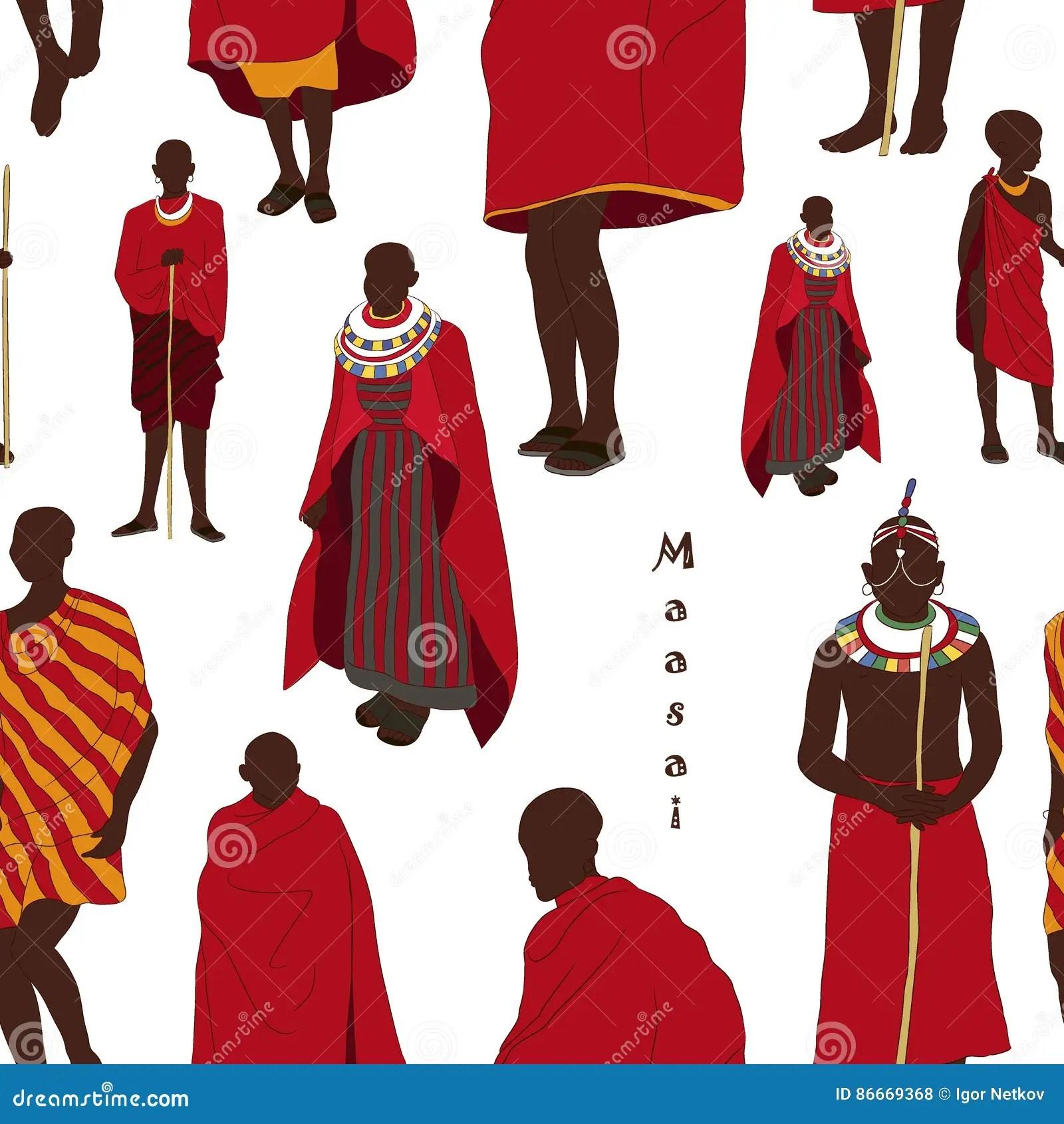 Cartoon American Afro African