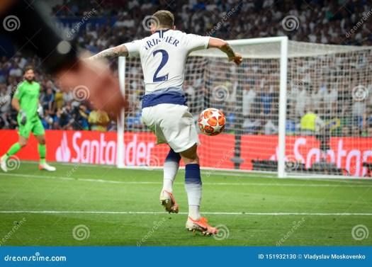 Madrid, Spain - 01 MAY 2019: Kieran Trippier During The ...