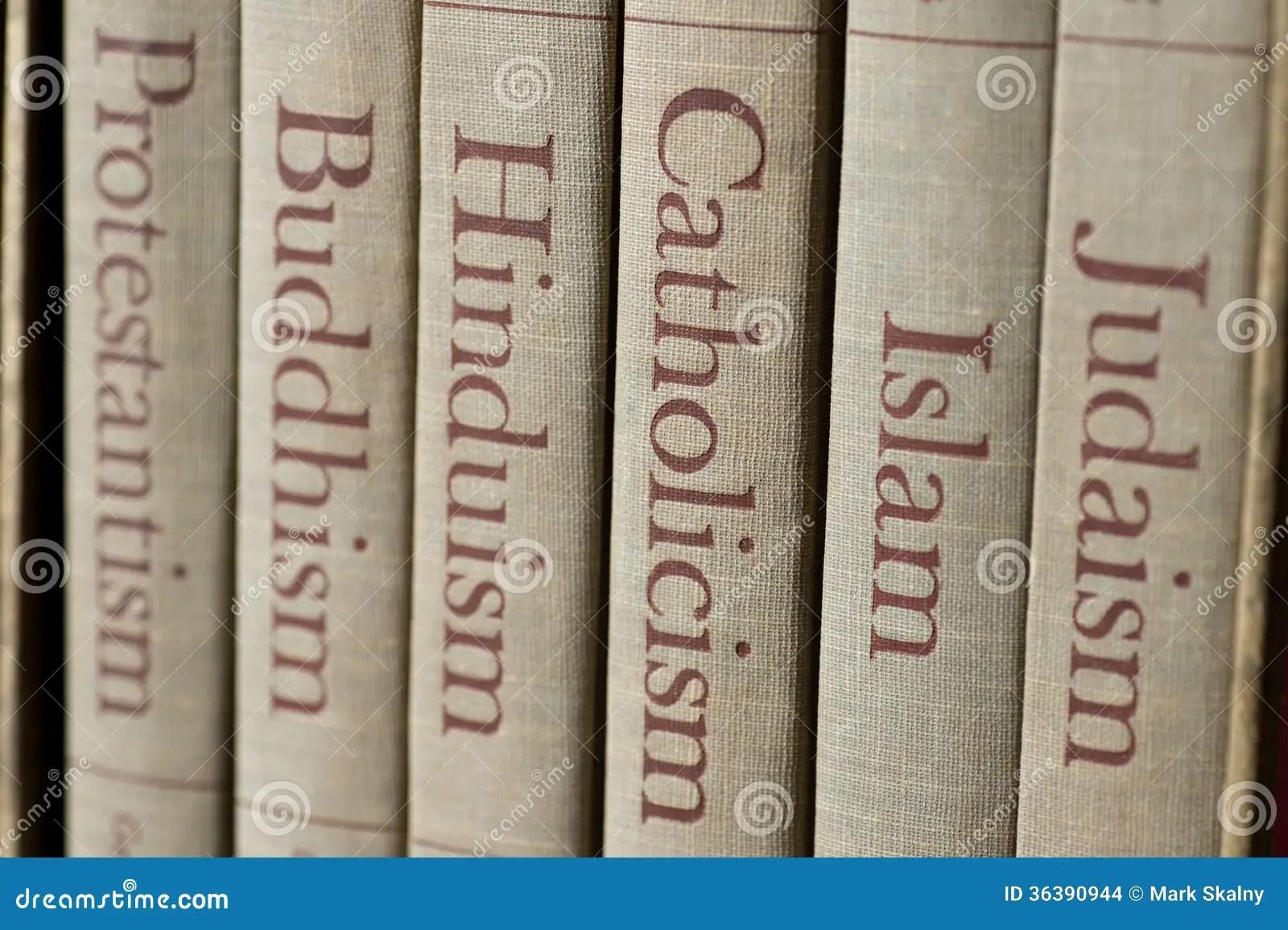 Major World Religions Stock Photo Image Of Faith Several
