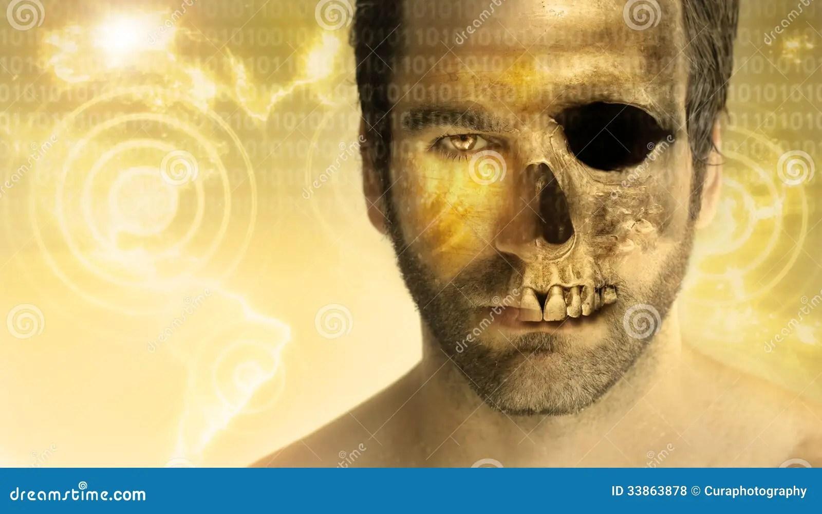 Man Skull Royalty Free Stock Photos