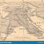 Map Of The Assyrian Empire Stock Illustration Illustration Of Cilicia 135698332