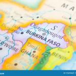 Map Of Burkina Faso Stock Image Image Of Explore City 173476621