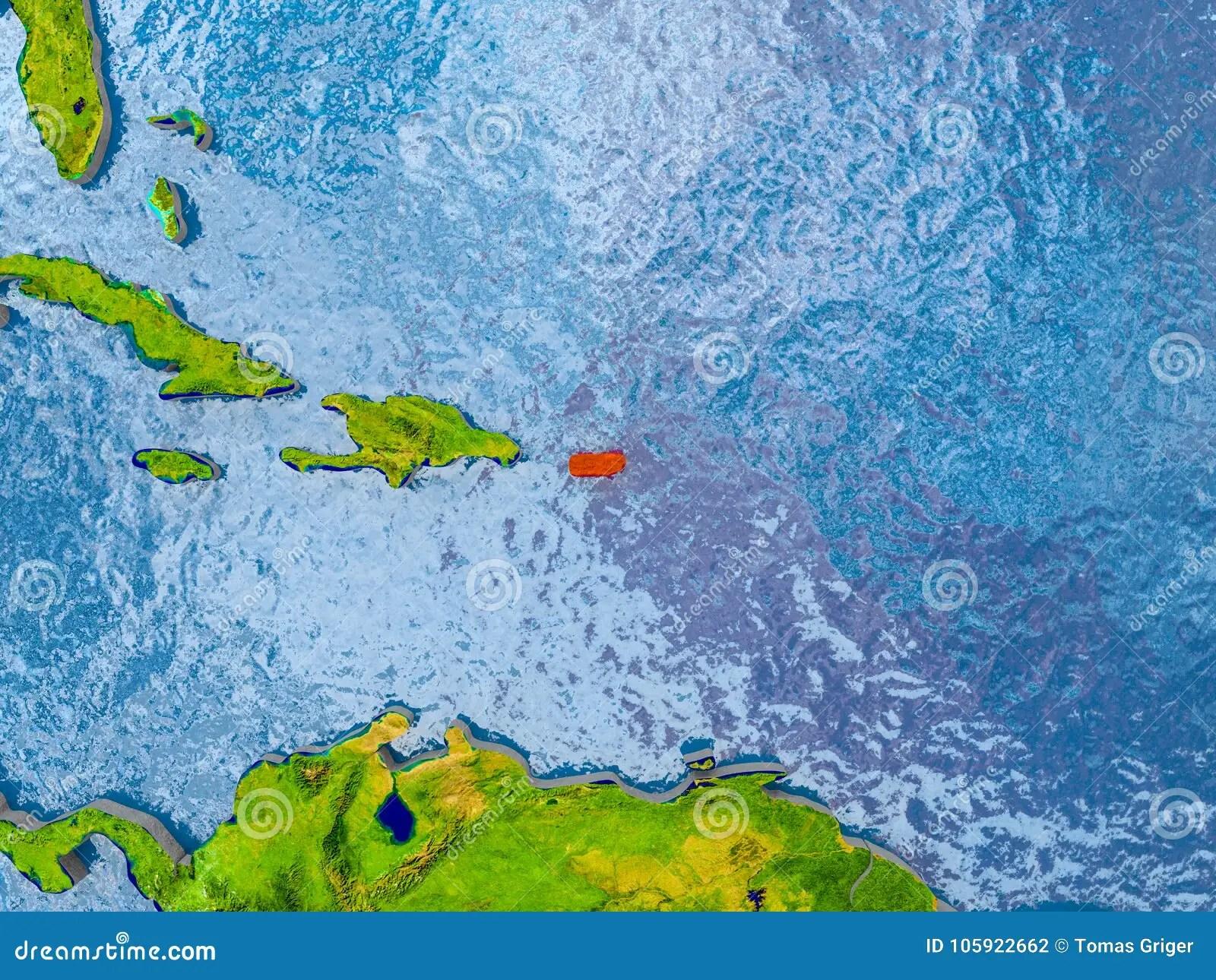 Map Of Puerto Rico Stock Illustration Illustration Of