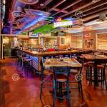 The Margarita Bar Inside A Chilies Restaurant Editorial Image Image Of Colorful Chairs 158701285