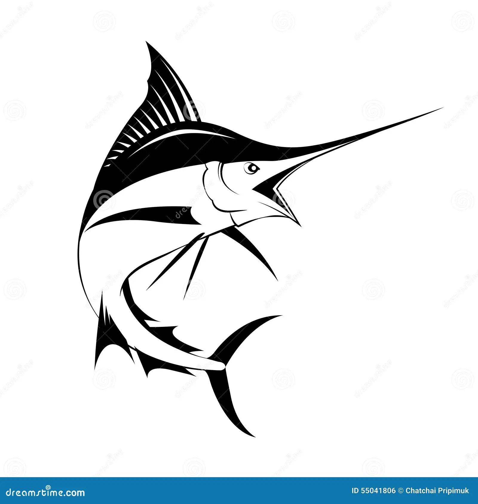 Marlin Fish Vector Stock Vector Illustration Of Vector