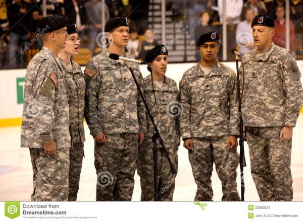 Massachusetts Army National Guard Editorial Stock Image ...