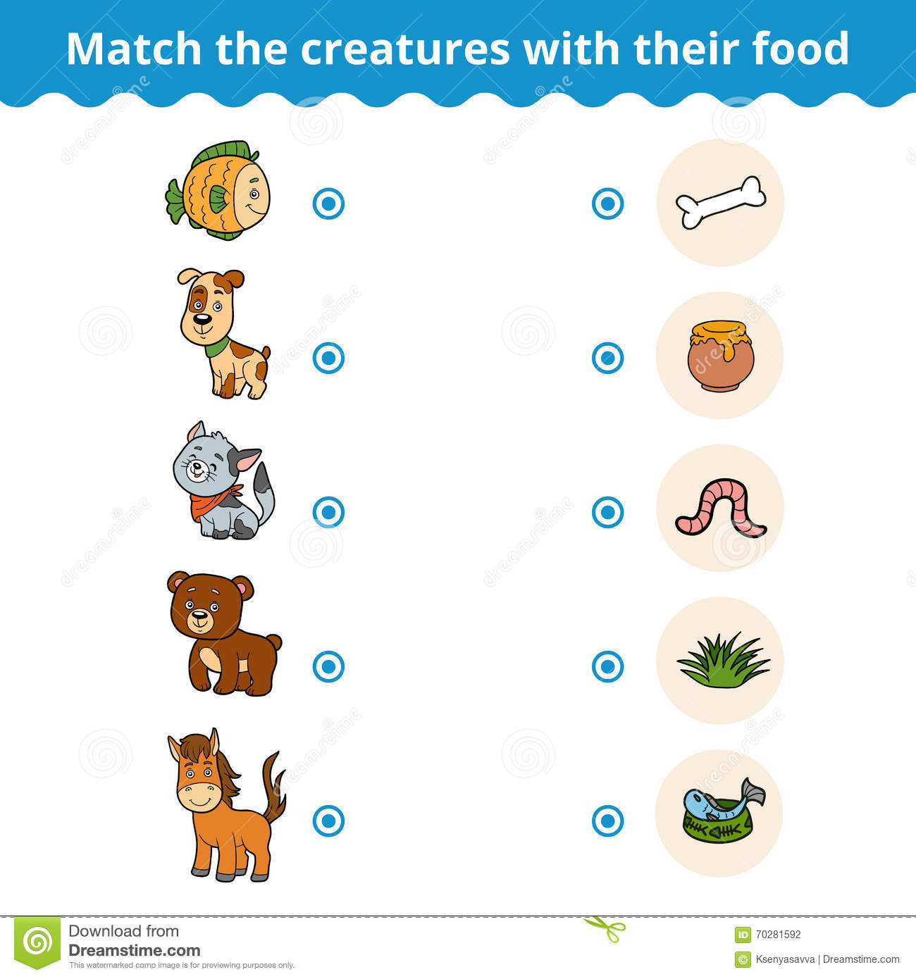 Baby Animals Worksheet To Match Their Mother
