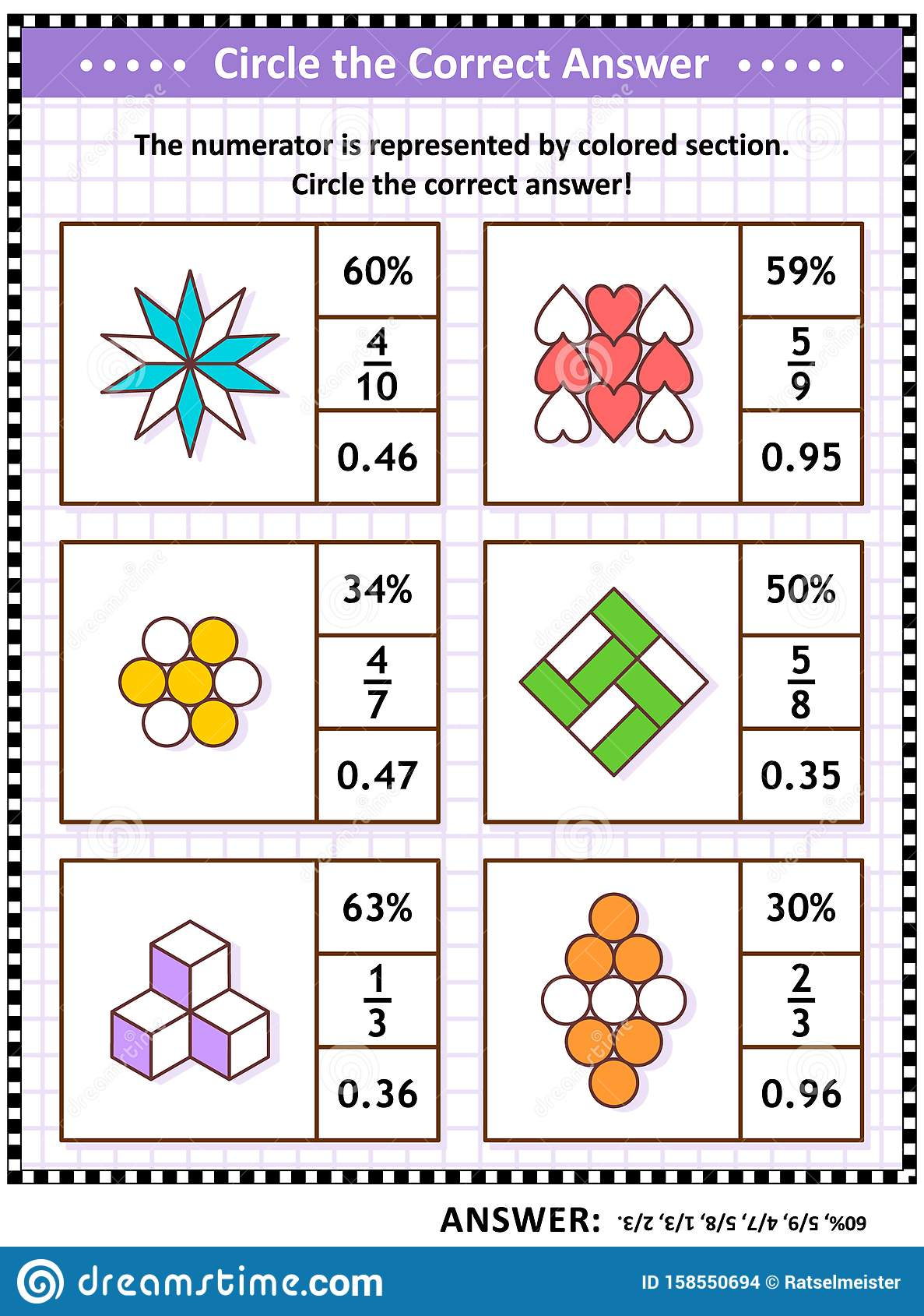 Math Puzzle Worksheet Or Task Cards To Learn And Practice