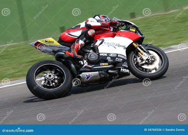 Max Neukirchner #27 On Ducati 1199 Panigale R MR-Racing ...