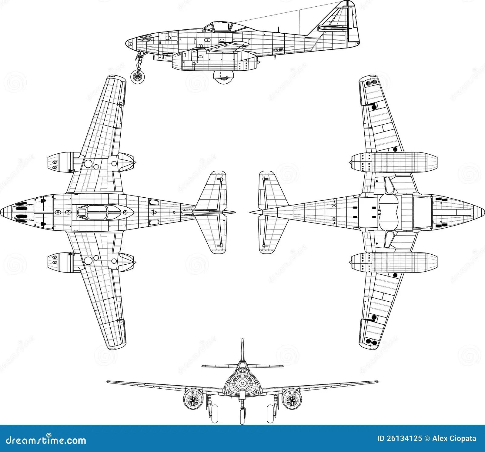 Me 262 Royalty Free Stock Photo