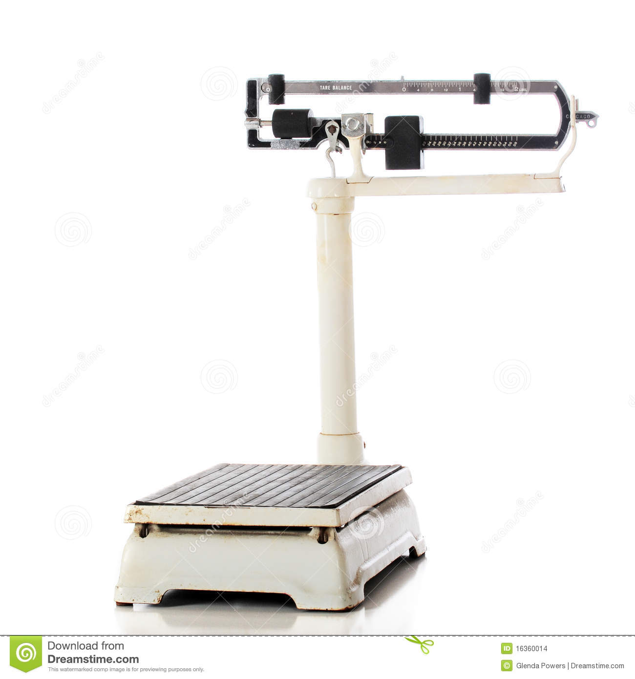 Mechanical Beam Scale Stock Images
