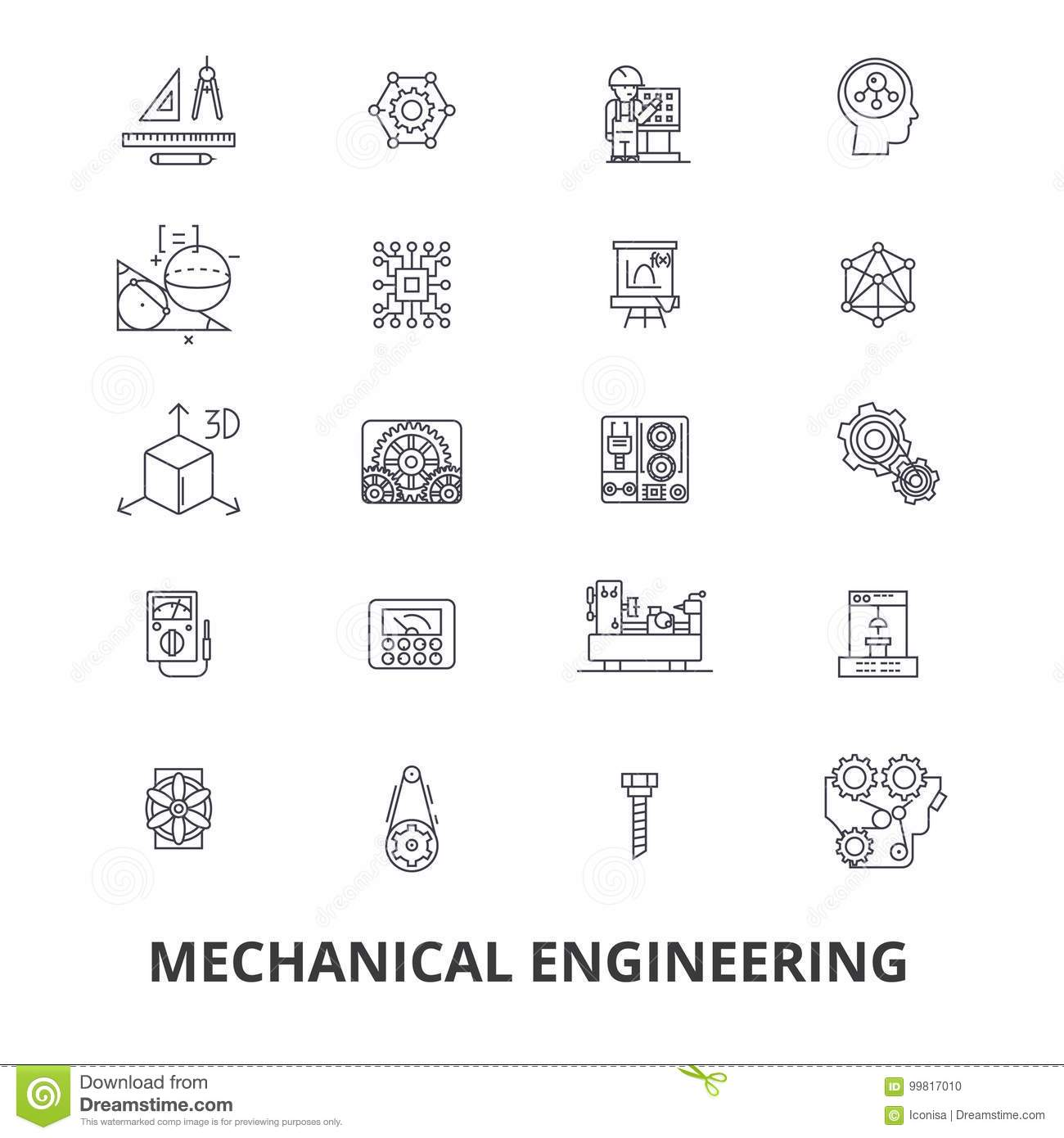 Mechanical Engineering Mechanic Electrical Gears
