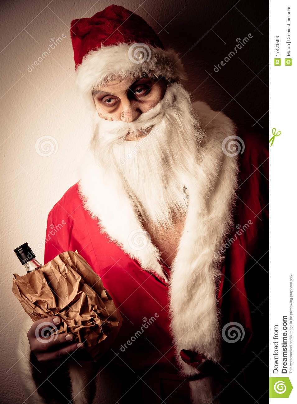 Merry Scary Christmas Royalty Free Stock Image Image