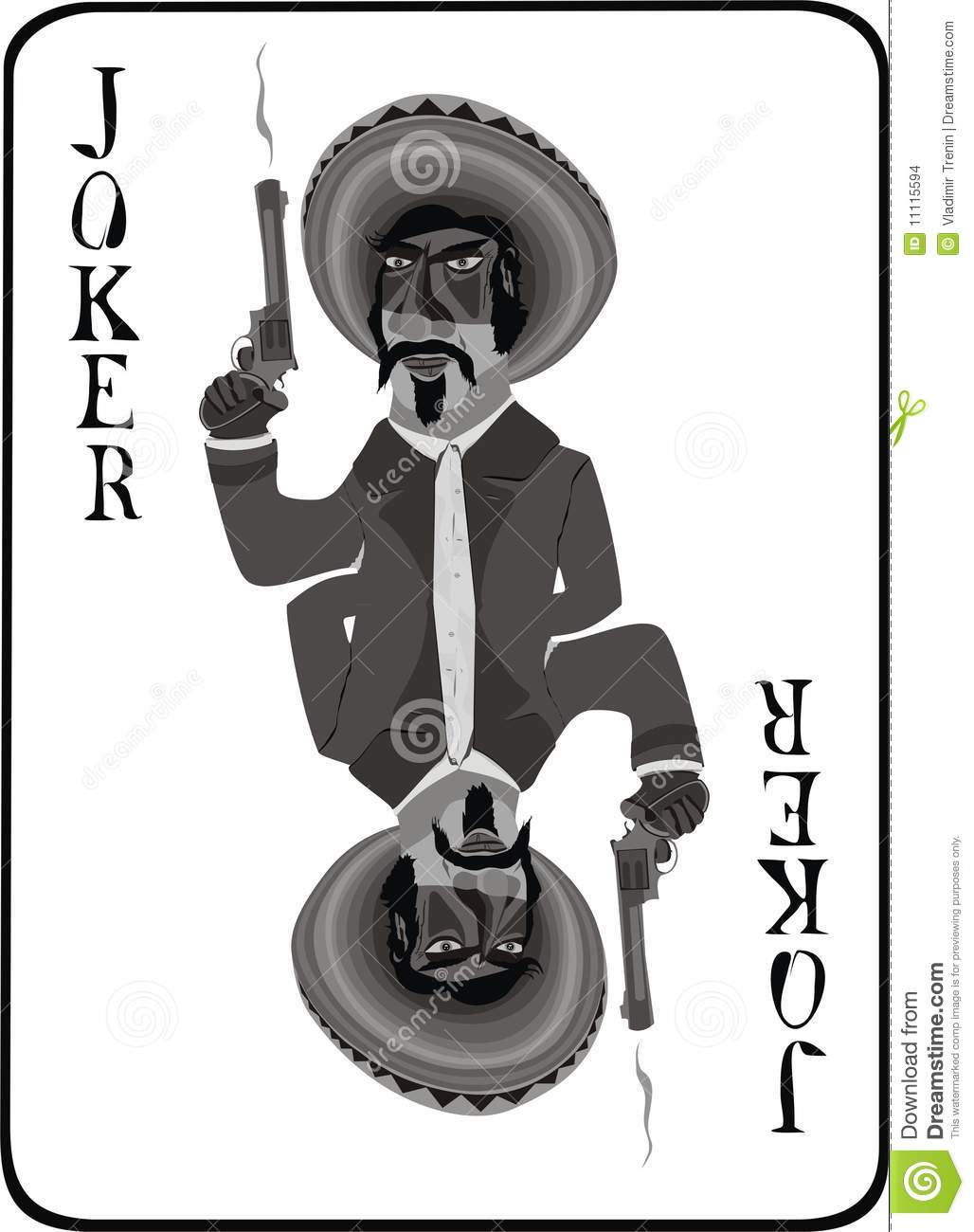 Mexican Joker Stock Images Image 11115594