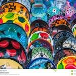 Mexican Plates Stock Image Image Of Colorful Souvenirs 32053663