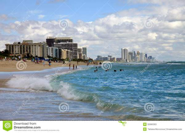 Miami Beach Editorial Stock Photo - Image: 32680363