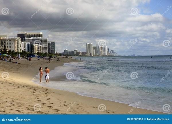 Miami Beach Editorial Stock Photo - Image: 32680383