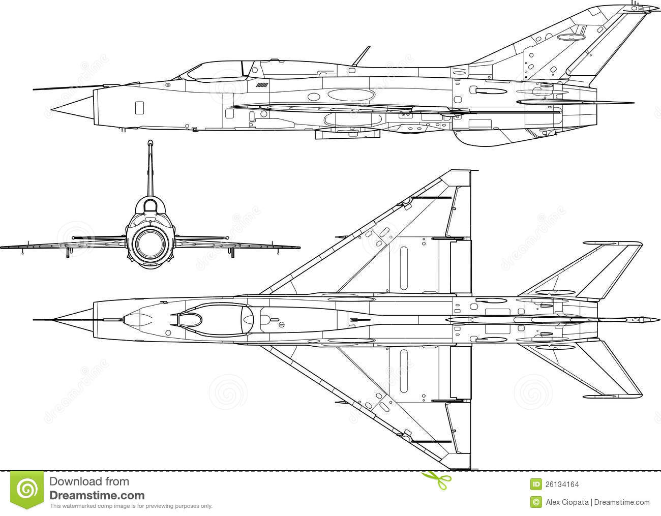 Mig 21 Stock Images