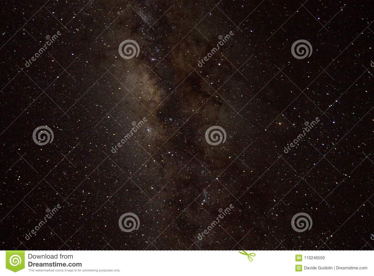 Milky Way Detail Stock Photo Image Of Night Distant