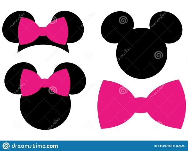 minnie mouse vector # 9