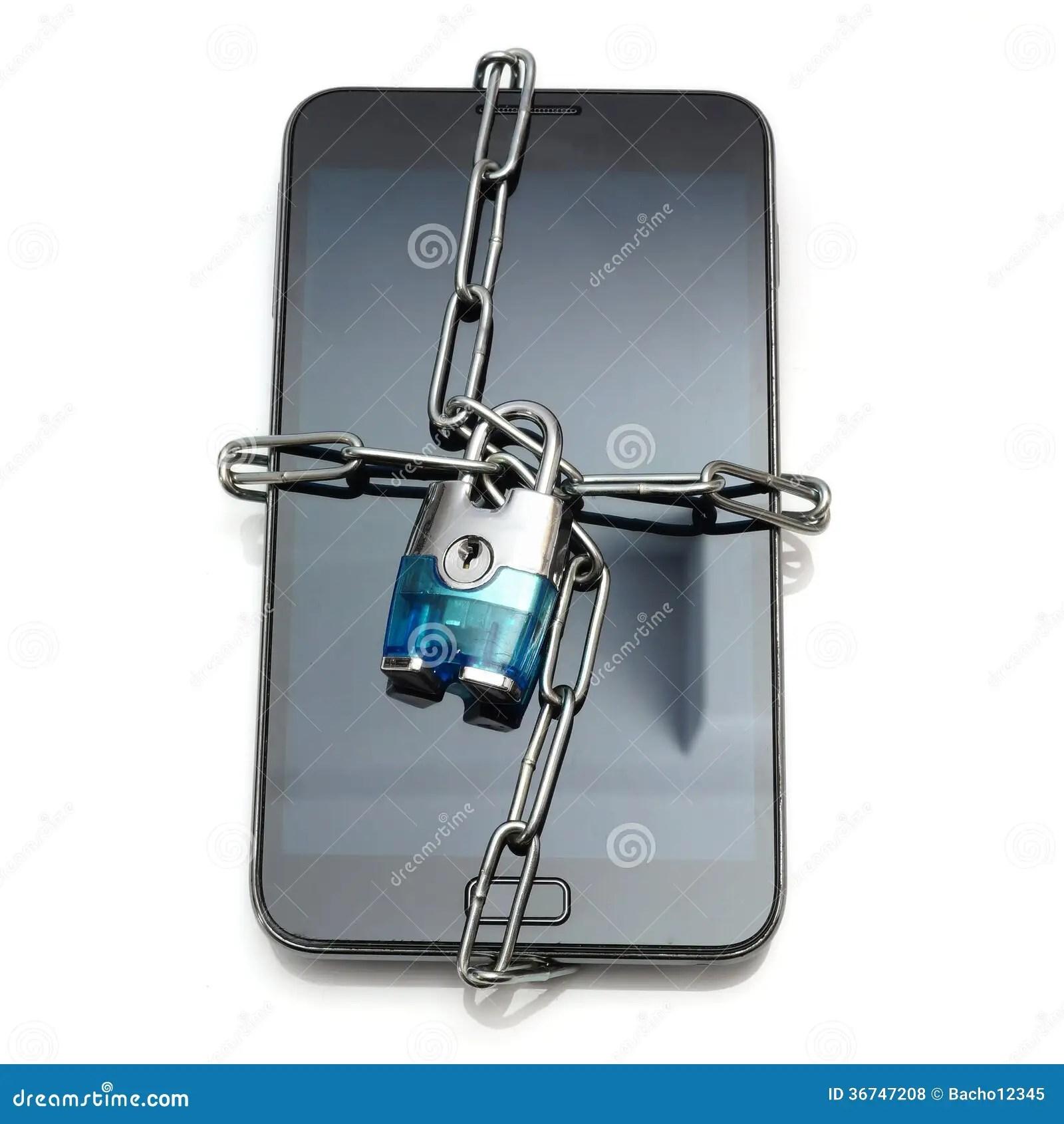 Mobile Security Lock Open