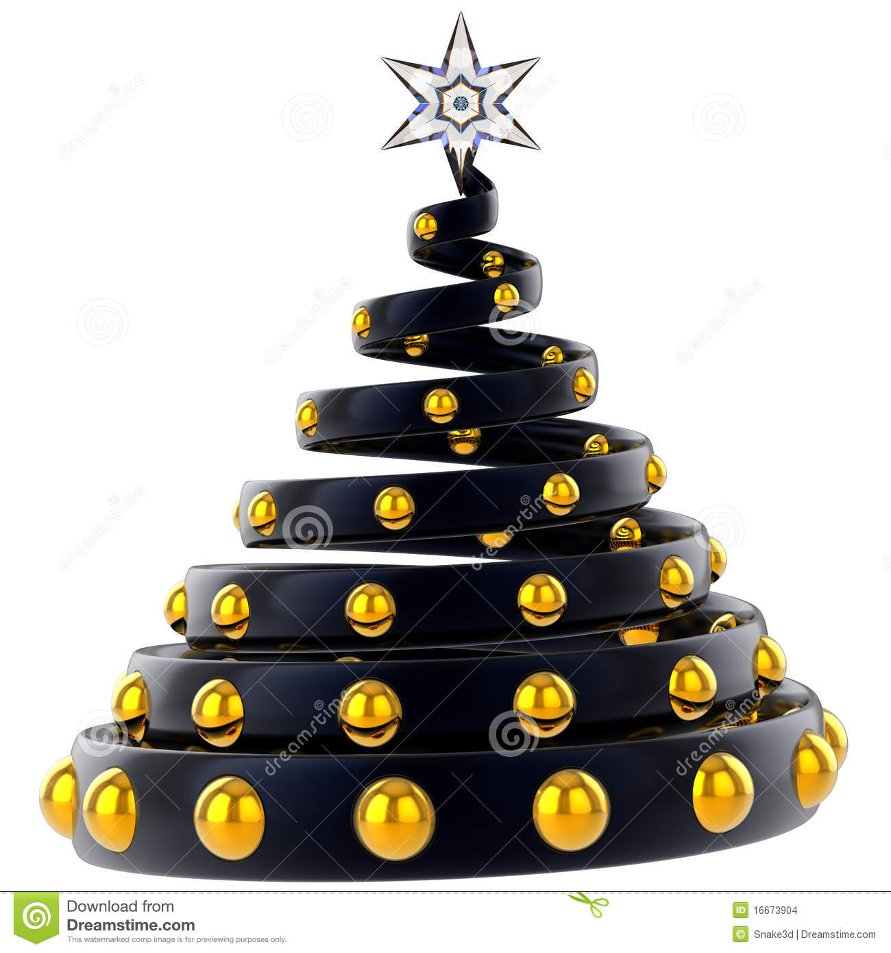 Modern Christmas Tree Stylized Hi Res Stock Images