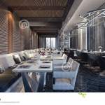 Modern Concept Design Of Restaurant Lounge Stock Illustration Illustration Of Resort Expensive 88818138