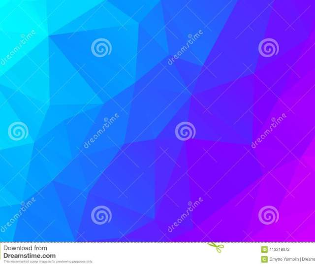 Modern Geometrical Abstract Background Triangular Backdrop Bright Wallpaper Geometric Texture Colorful Pattern Creative Concept Vector Illustration