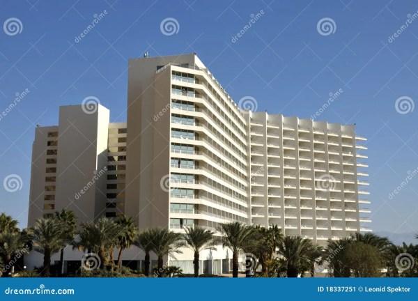 Modern hotel building stock image Image of estate