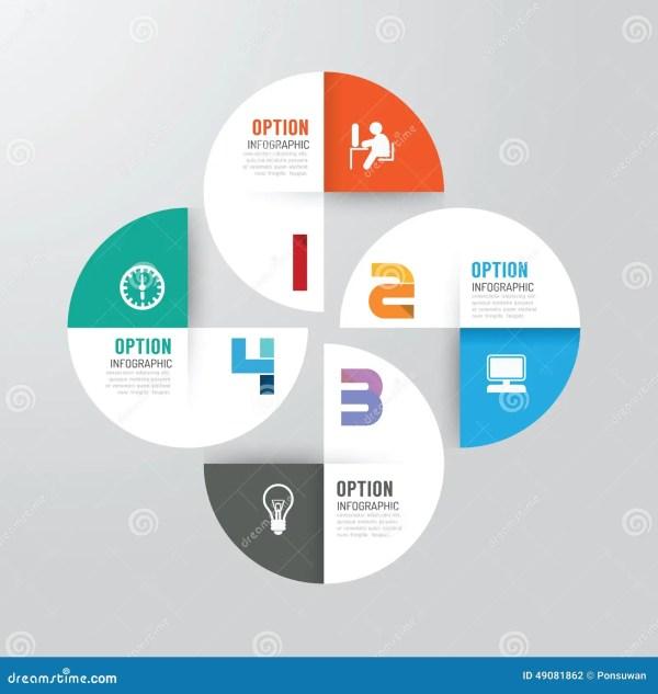 Modern Infographics Design Options Banner. Vector ...