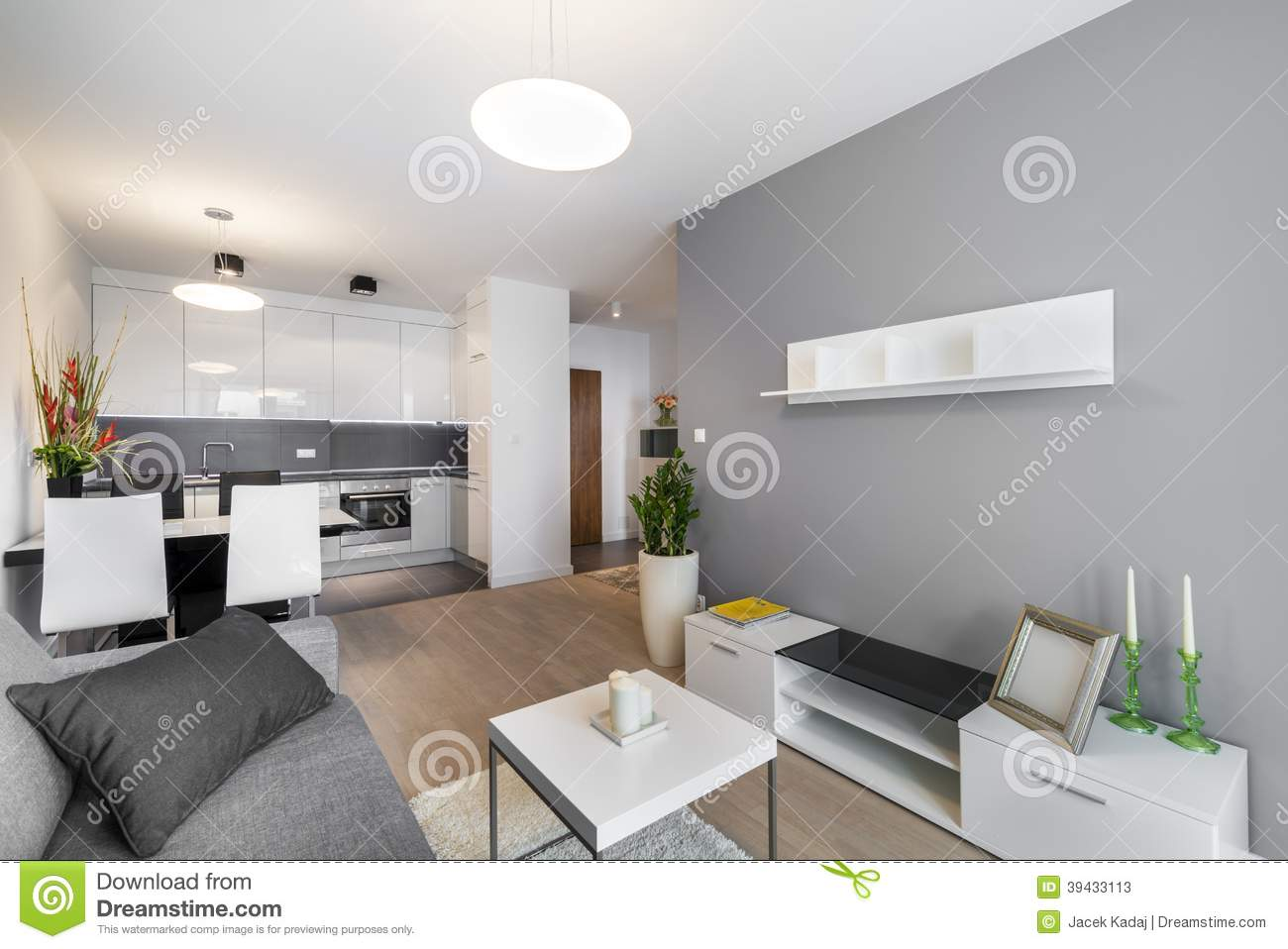 modern interior design living room stock image - image of luxury