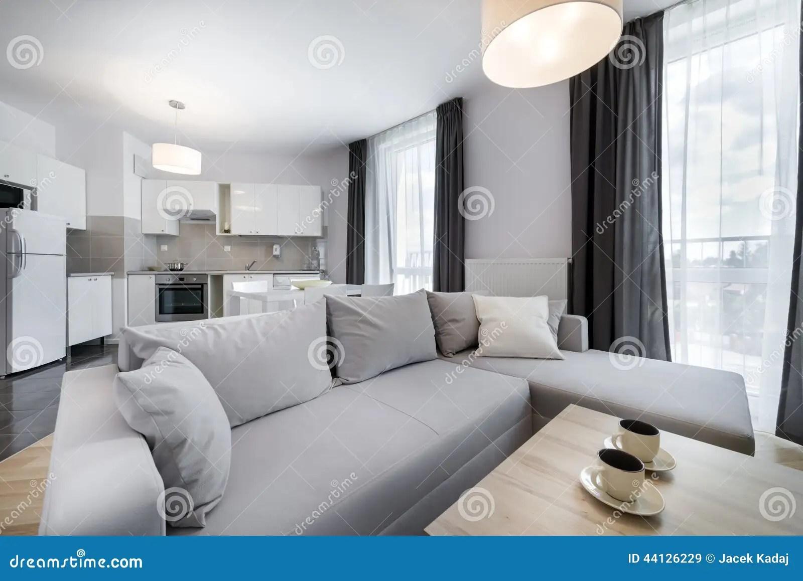 Modern Interior Design Living Room In Scandinavian Style Stock Photo Image 44126229