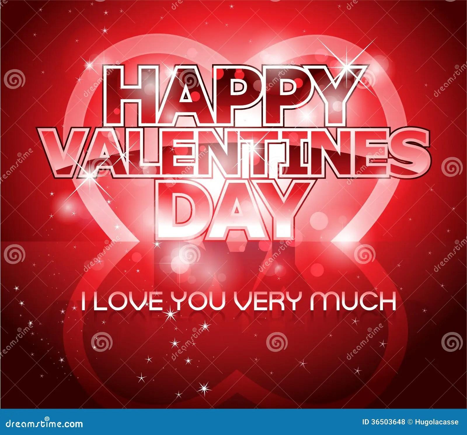Modern Valentine S Day Letter Greeting Background Royalty