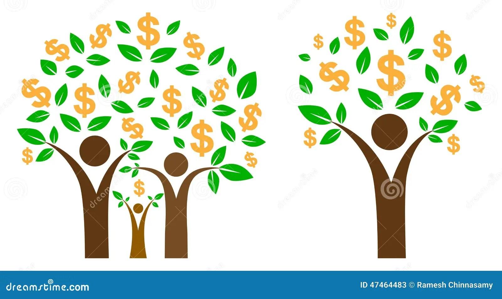 Money Tree Stock Vector Image Of Element Company