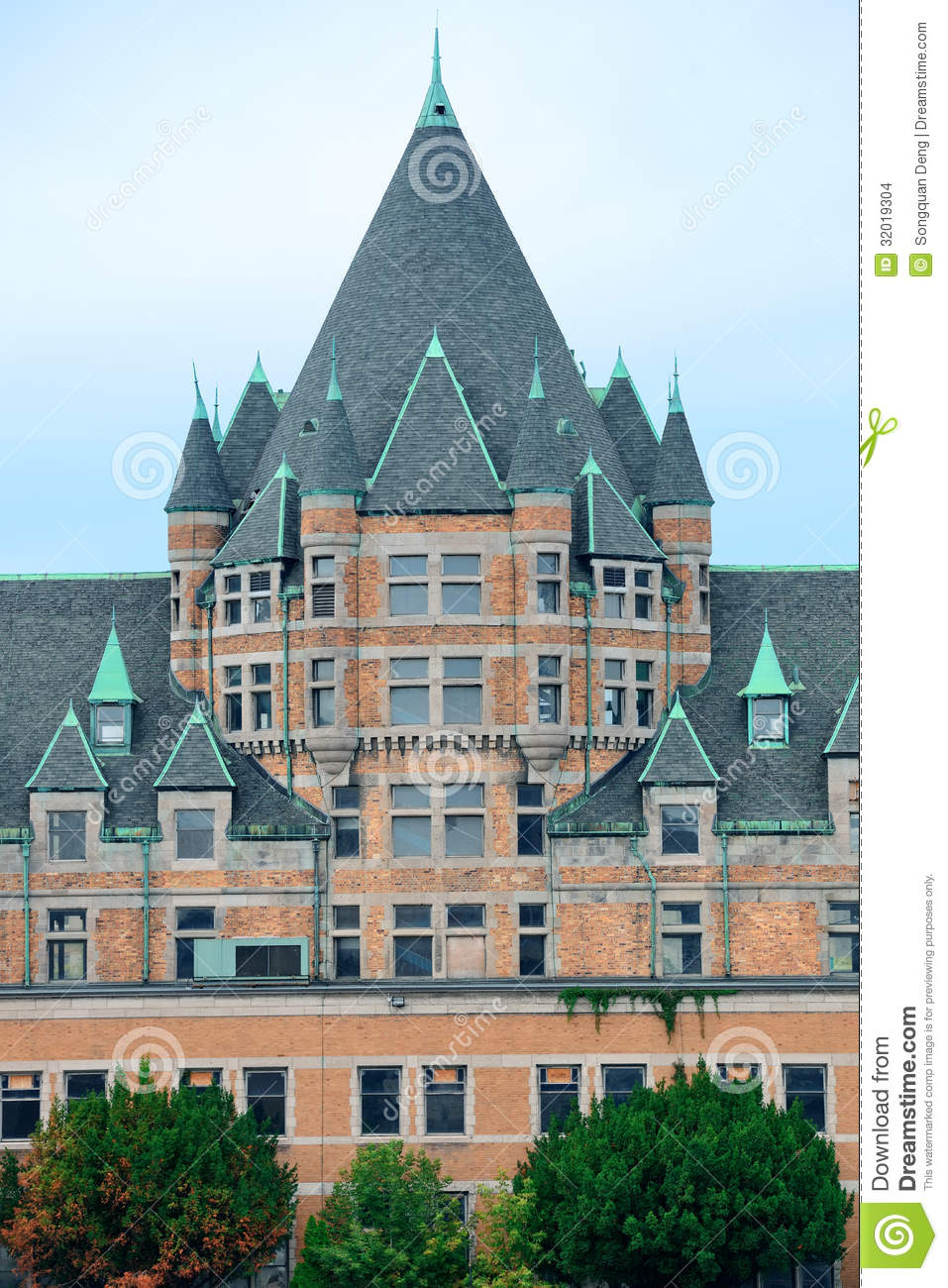 Montreal Historical Buildings Stock Images Image 32019304