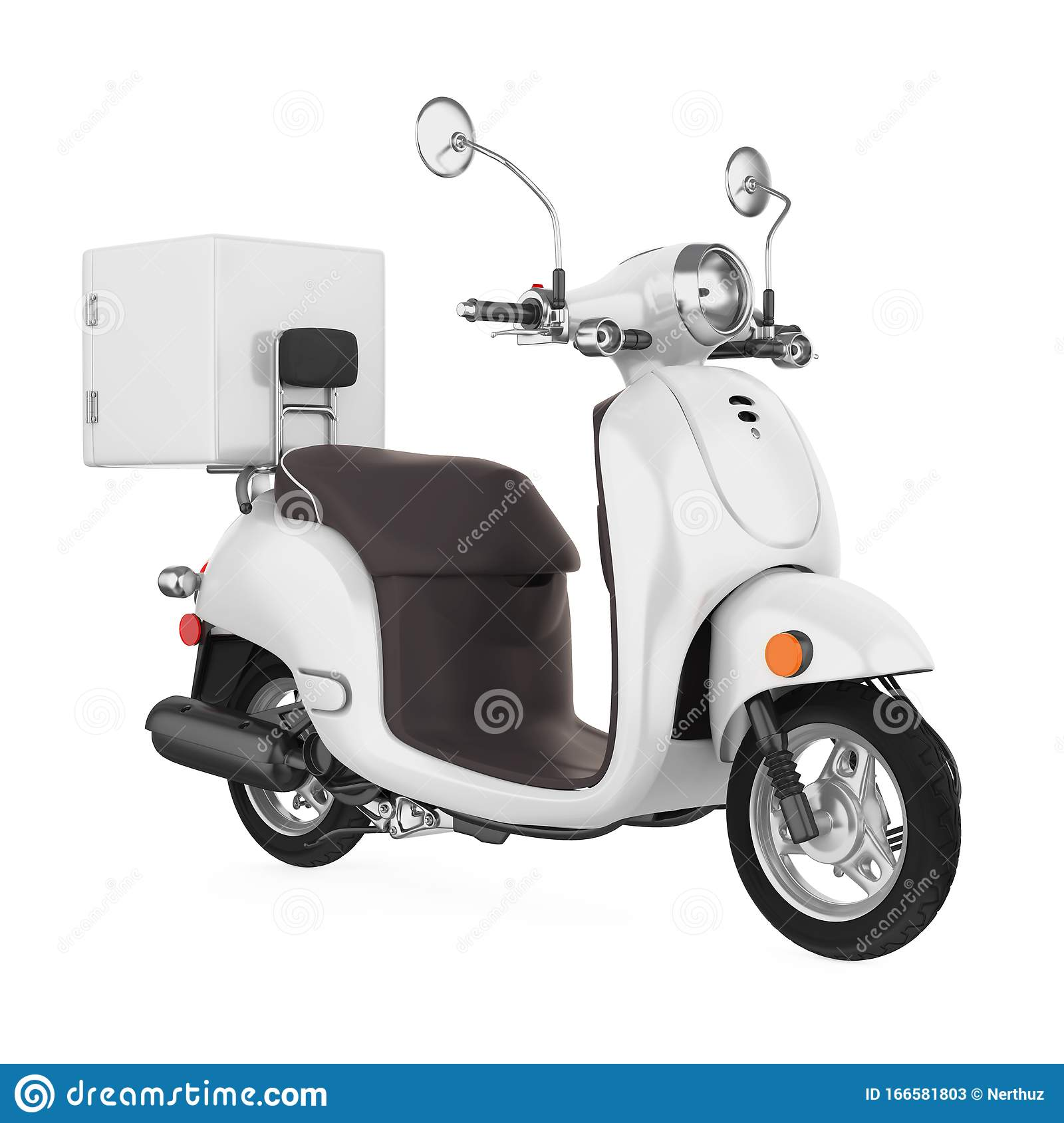 3,000+ vectors, stock photos & Motorcycle Delivery Box Isolated Stock Illustration Illustration Of Isolated Side 166581803